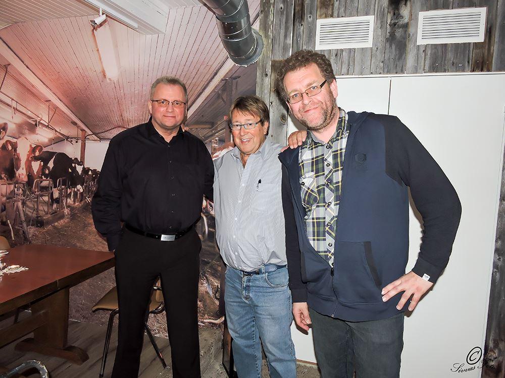 Magiker Axel Radini Olsen, Tore Skoglund og Sverre Breivik